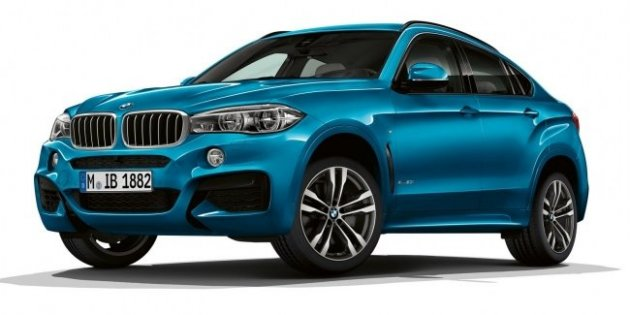 BMW обновила внедорожники X5 и X6