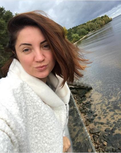 Оля Цибульская восхитила естественной красотой