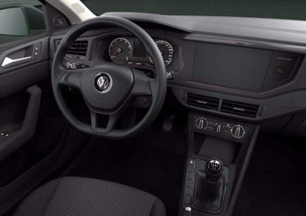 Volkswagen показала интерьер нового хэтчбека