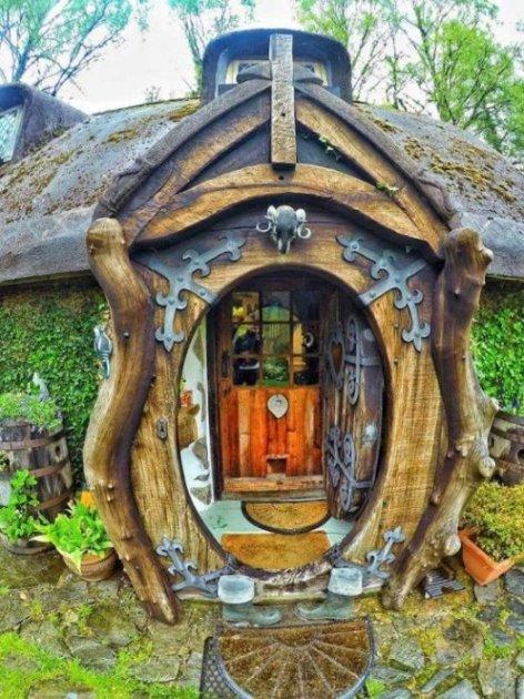 В Шотландии был обнаружен домик хоббита. Фото