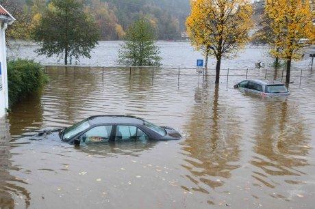 Ливни затопили южную Норвегию