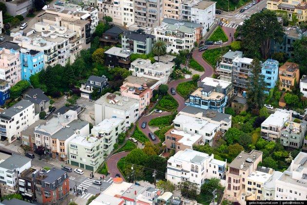 Красоты Сан-Франциско с высоты птичьего полета. Фото