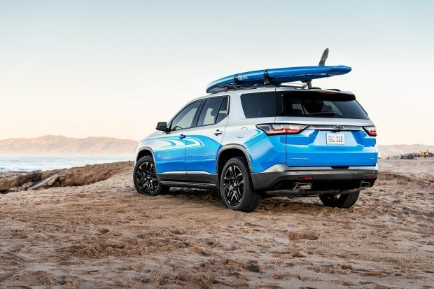 Chevrolet официально рассекретила новый внедорожник с уникальным окрасом