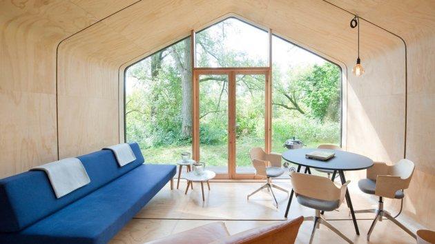 Дизайнеры разработали эко-дом из картона, который прослужит 100 лет. Фото