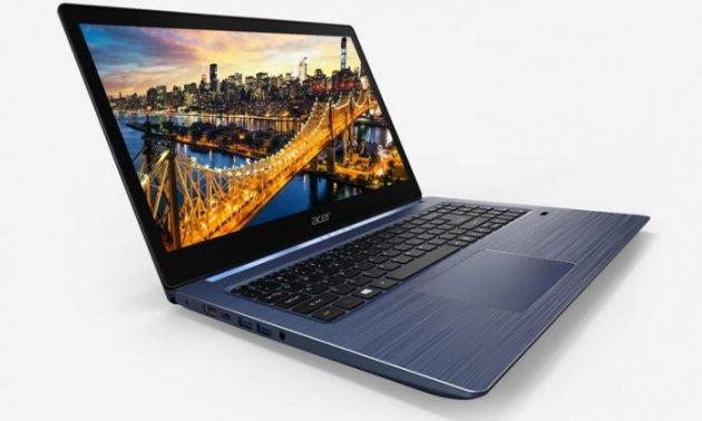 В Сеть попали снимки нового ноутбука Acer Swift 3