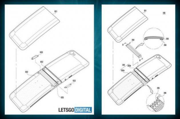 Samsung показала еще один вариант гнущегося экрана