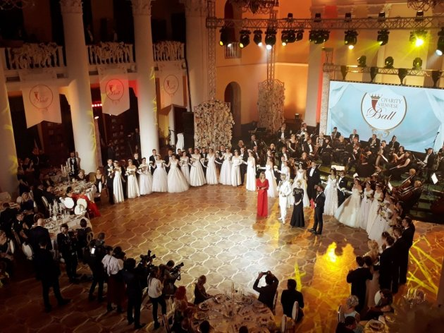 В Киеве состоялся Венский бал. Фото