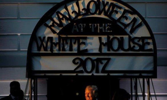 Как отметили Halloween Дональд Трамп и его жена. Фото