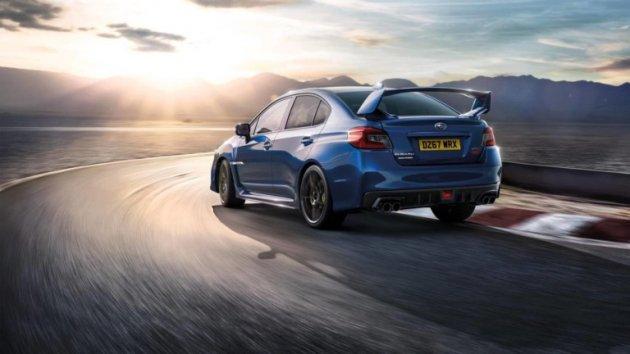 Subaru представила прощальную серию культовой Impreza WRX
