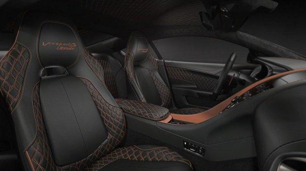 Aston Martin представил прощальную версию спорт-кара Vanquish