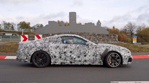 Фотошпионы сняли тесты «заряженного» купе BMW M8