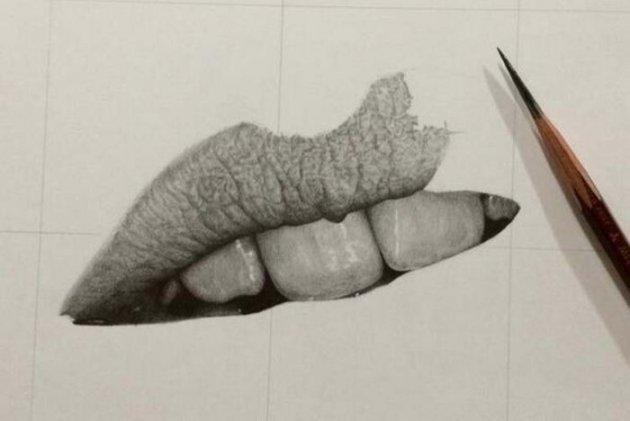 «Нереально реалистичные» рисунки японского художника. Фото