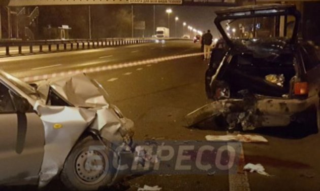 Трагическое ДТП в Киеве: пострадали восемь человек
