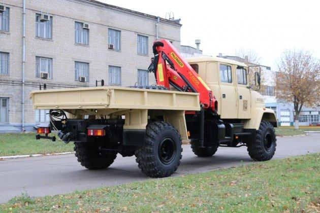 КрАЗ выпустил карьерный грузовик с двухрядной кабиной