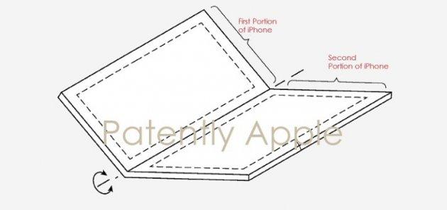 Apple запатентовала необычный экран