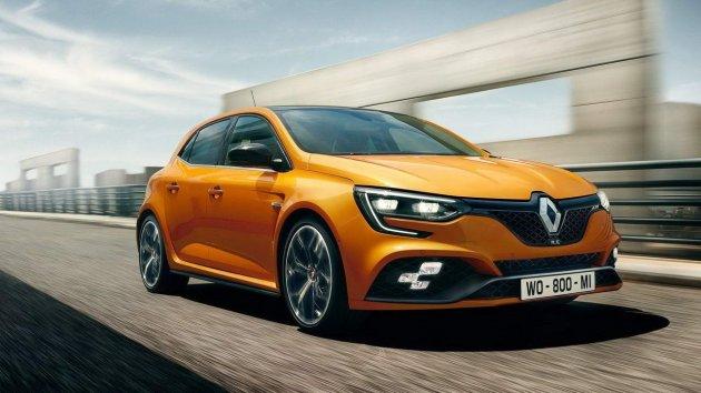 В Сети показали новый Renault Megane RS