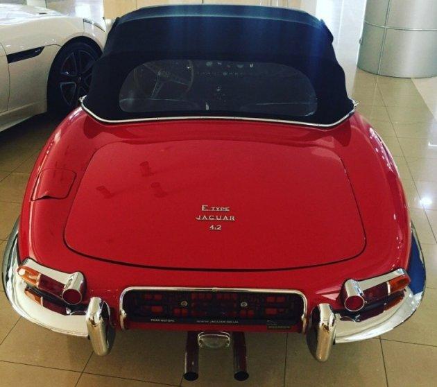 В Одессе видели самый красивый автомобиль в мире