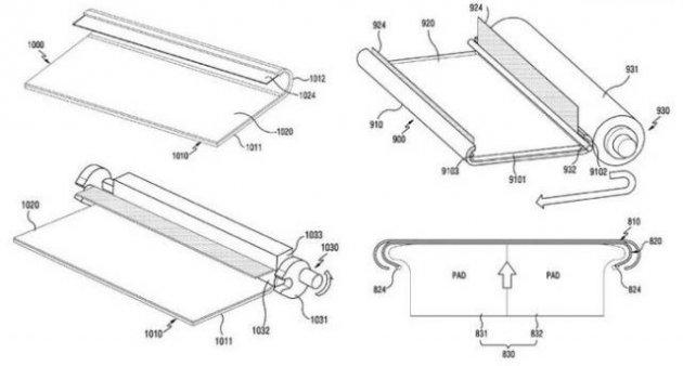 Samsung запатентовала очередной революционный смартфон