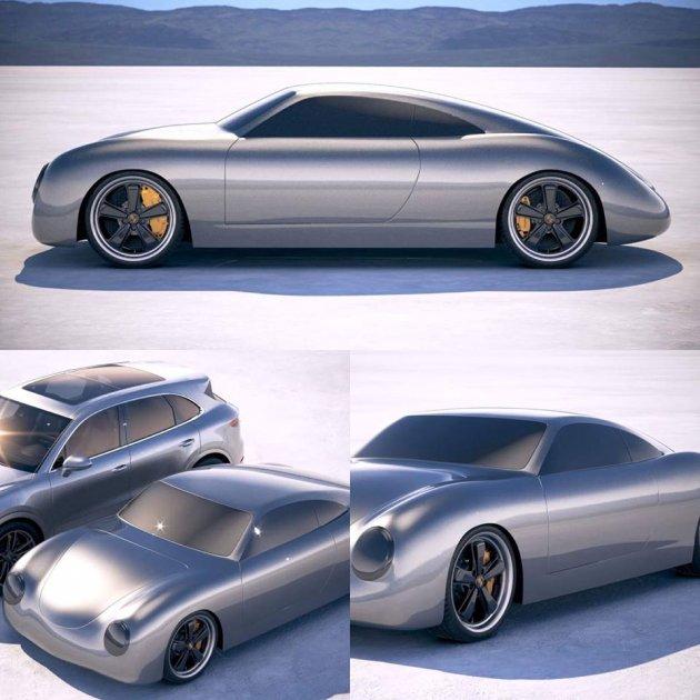 Харьковчане похвастались дизайном «украинского Porsche»