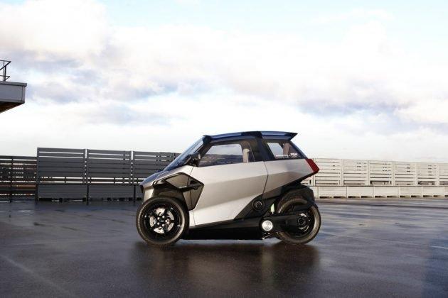 Peugeot разработала необычное транспортное средство