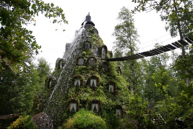 Самые необычные отели мира. Фото