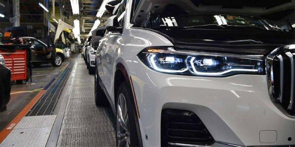 В Сеть попали первые снимки нового большого кроссовера от BMW