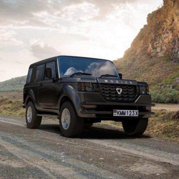 Mobius Motors представила бюджетный внедорожник