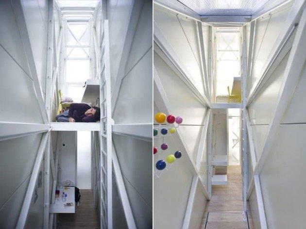 Жизнь в шкафу: так выглядят самые маленькие квартиры в мире. Фото
