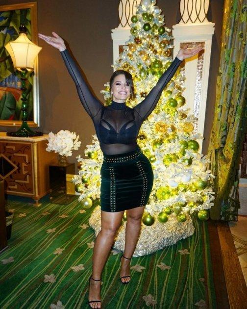 Как звезды Голливуда отпраздновали Рождество. Фото