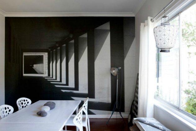 Невероятная иллюзия в домашнем интерьере. Фото