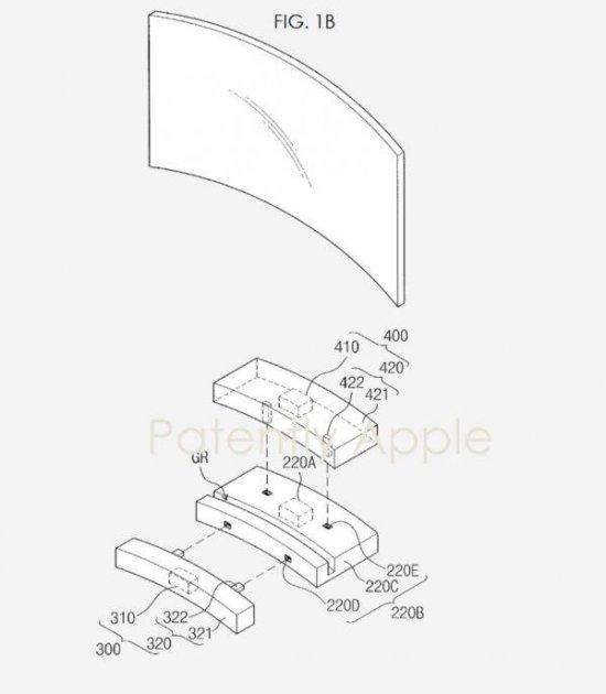 Samsung запатентовала необычный модульный телевизор