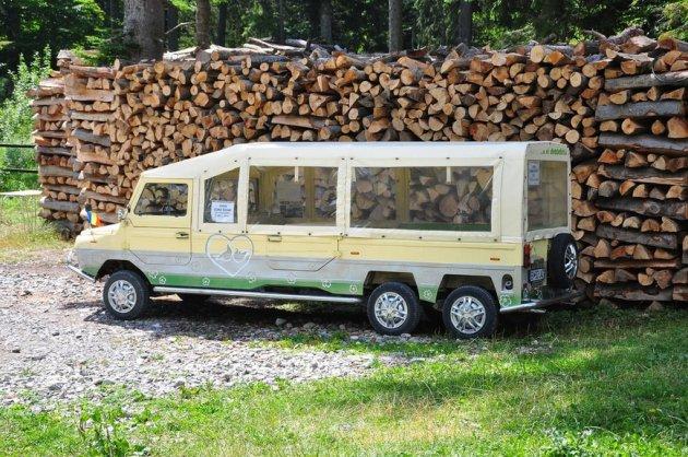 В Болгарии заметили необычный ЛуАЗ-967М