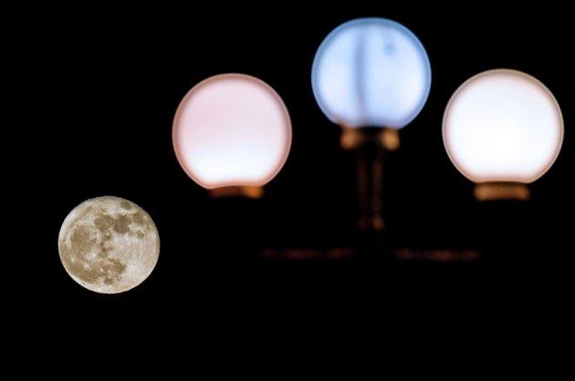 В Сети показали первое в 2018 году суперлуние. Фото