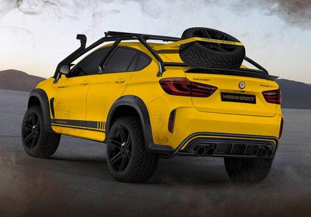 Немцы представили экстремальный внедорожник на базе BMW X6