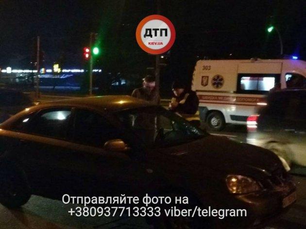 ДТП в Киеве со