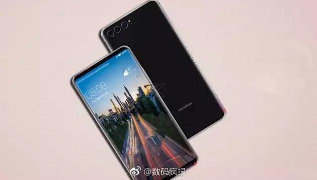 Появились первые снимки смартфона с тройной камерой от Huawei