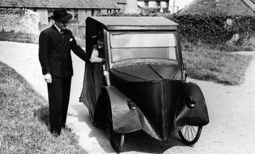 Необычные транспортные средства XIX и XX веков. Фото