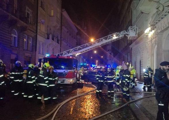 В Праге произошел пожар в гостинице: есть жертвы