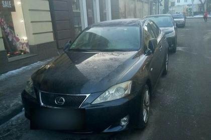 Пьяный львовянин «потерял» Lexus и устроил переполох полиции