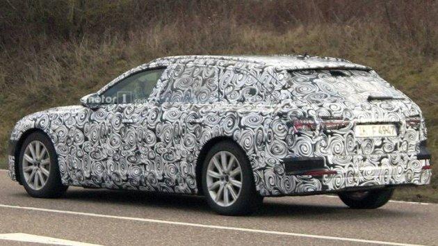 Фотошпионам удалось засечь новинку от Audi