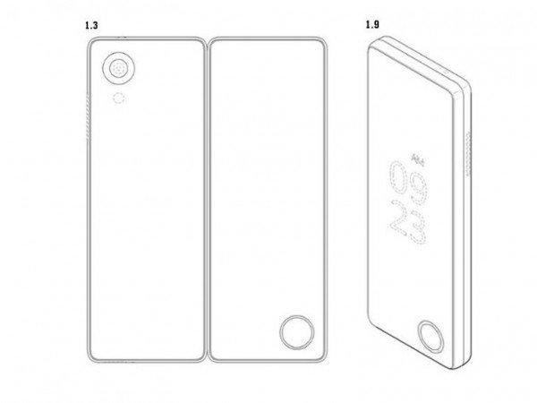 LG запатентовала смартфон со складным экраном
