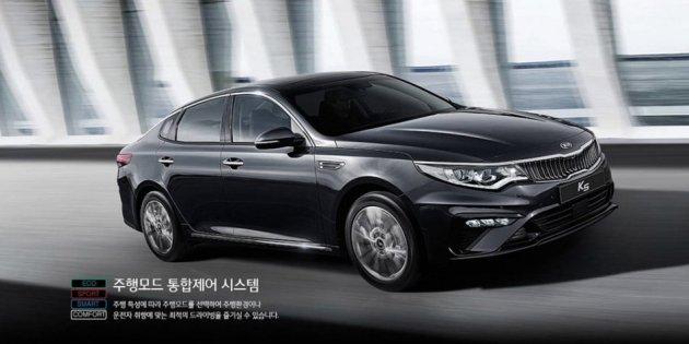 Корейцы показали обновленный седан Kia Optima без камуфляжа