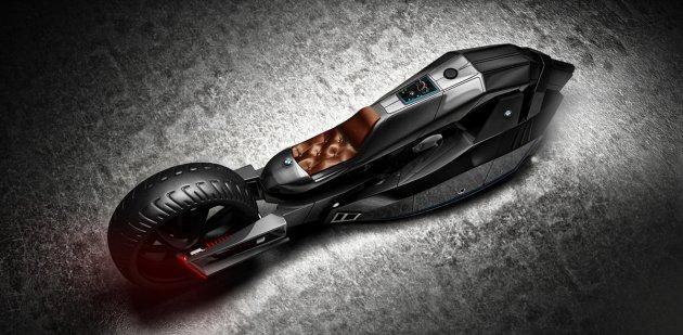 BMW Titan: создан мотоцикл с анатомией акулы