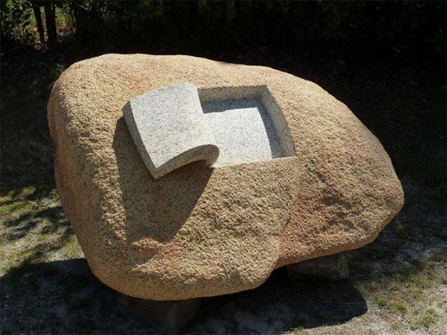 Невероятные скульптуры из «мягкого» камня. Фото