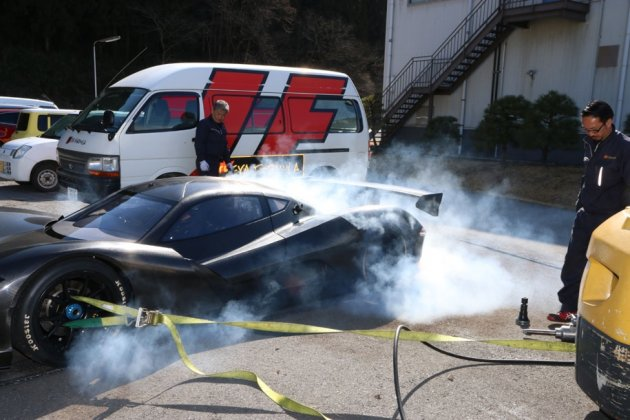 Новый рекорд: японский электромобиль разогнался до сотни за 1,9 секунды