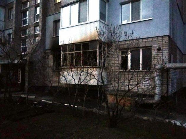 Мощный пожар в Запорожье: есть погибший и пострадавшие