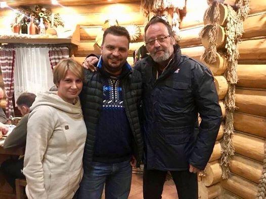 Звезда «Леона-киллера» приехал на съемки в Украину
