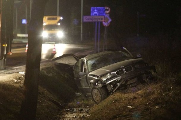 В Польше пьяный украинец стал виновником смертельной аварии