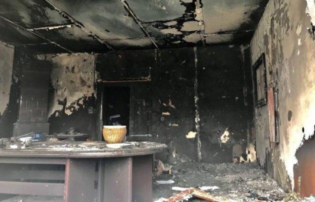 В Ужгороде у Общества венгерской культуры прогремел взрыв. Видео