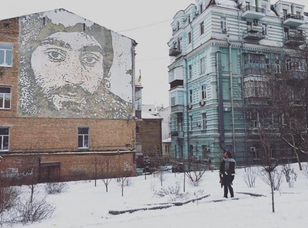 Звезда «Хоббита» прогулялся по достопримечательностям Киева